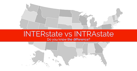 What is the Difference Between Interstate versus Intrastate?
