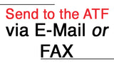 Which ATF Forms and Applications Can You Fax OR EMAIL to the ATF?