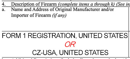 eForm 1 Application Adds - UNITED STATES, Do I Engrave USA or City, State?