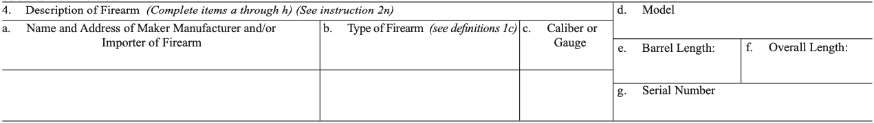 Do you Need Your Firearm or Silencer Before You Can Apply for a ATF Form 4 Tax Stamp?