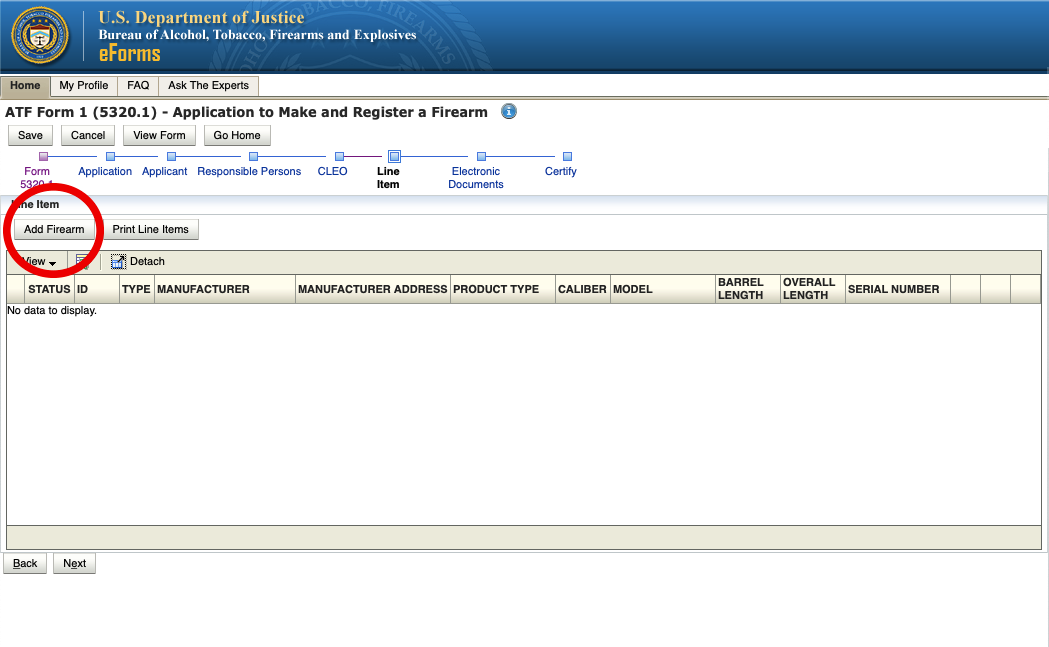 """How to See if a Firearm is """"Already Researched"""" on ATF eForms Website"""