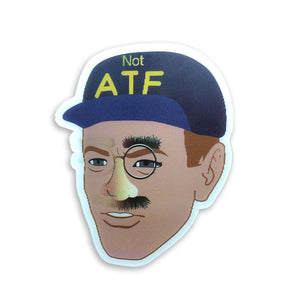 ATF Guy / NOT ATF Guy Lenticular Meme Sticker Version