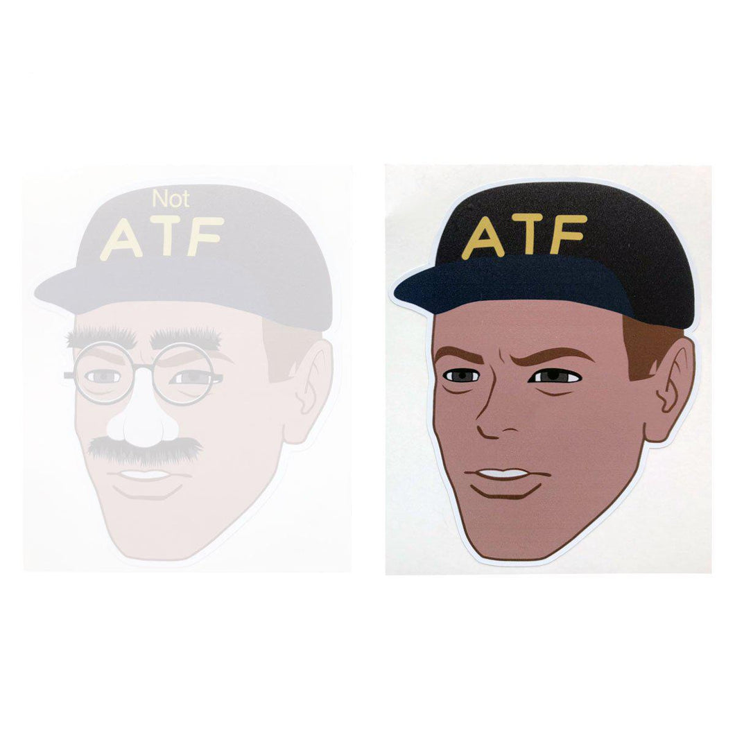 ATF Guy Meme Sticker
