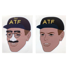 ATF Guy Meme Sticker & NOT ATF Guy Meme Sticker