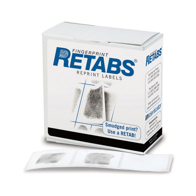 Identicator Retabs - Fingerprint Reprint Labels
