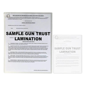 NFA Gun Trust Lamination Services Full Size