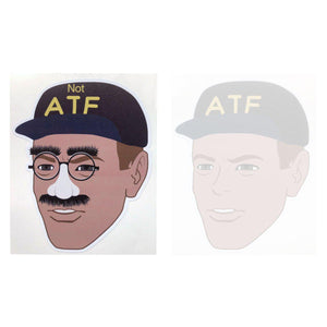 NOT ATF Guy Meme Sticker