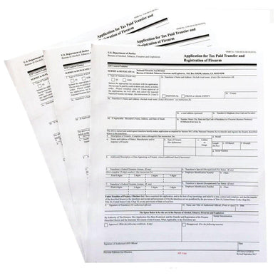 Official ATF Form 5320.4 - ATF Form 4 - Paper Application Form