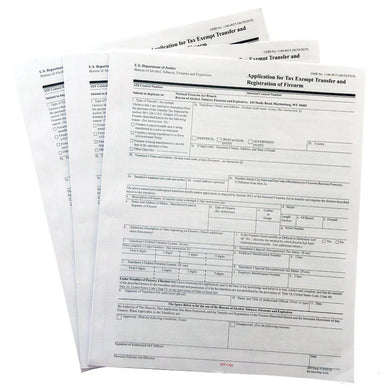 Official ATF Form 5320.5 - ATF Form 5 - Paper Application Form