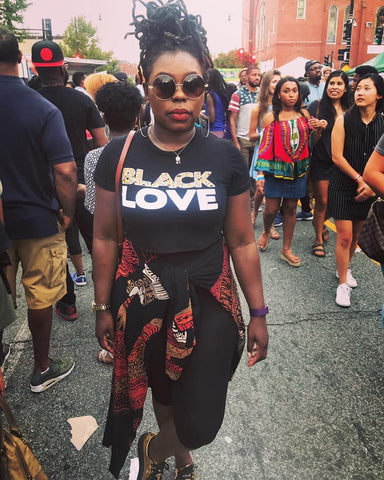 Black Love (Crop Top)