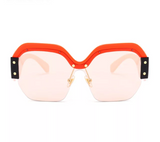 SOLD OUT! Red/Pink Oversize Sunglasses