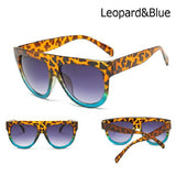 SOLD OUT Leopard & Blue Sunglasses