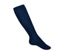 Opaque Knee-High Socks (Navy)