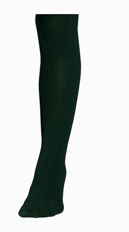 Pull-On Cotton Tights (Black)