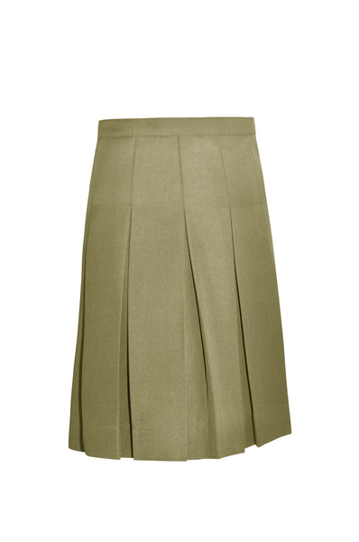 Junior's Pleated Twill Skirt