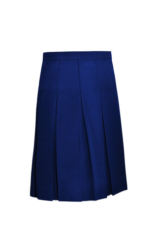 Women's Pleated Twill Skirt