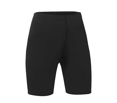 Girl's Pull-On Bike Shorts (Black)