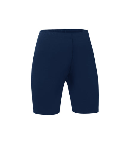 Junior's Pull-On Bike Shorts (Navy)