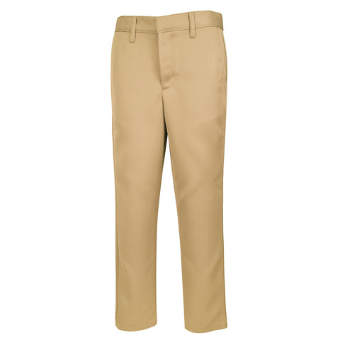 Boy's Slim Modern Fit Flat-Front Twill Pants