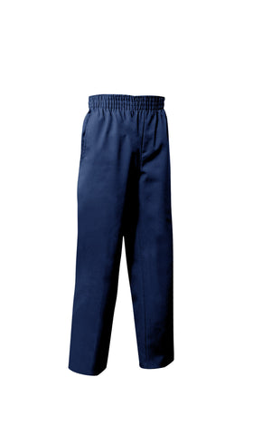 Toddler Pull-On Flat Front Twill Pants