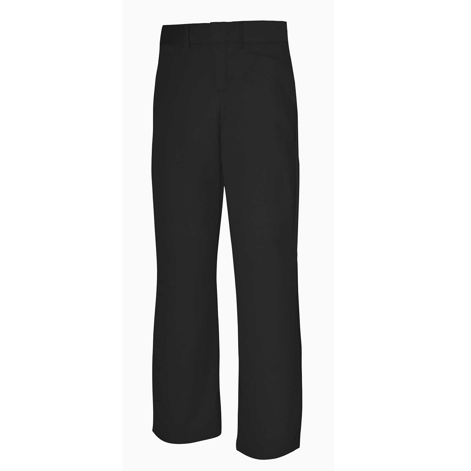 Junior's Mid-Rise Plain Front Flex Twill Pants