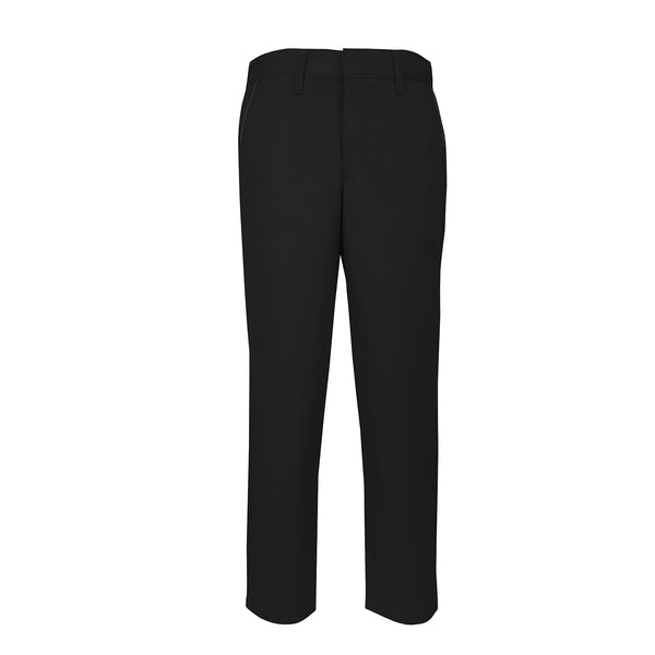 Men's Modern Fit Flat-Front Twill Pants