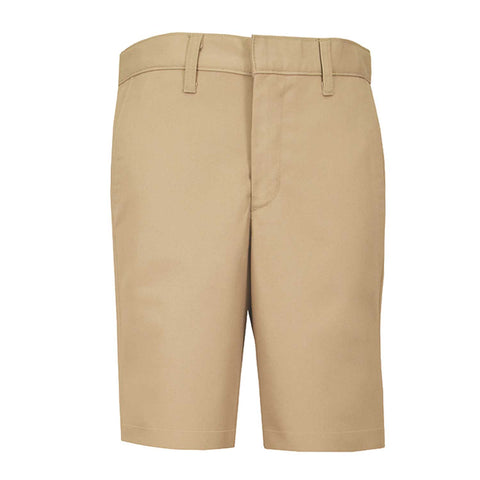 Men's Modern Fit Flat-Front Twill Shorts