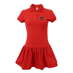 CTCS Girl's Jersey Polo Dress