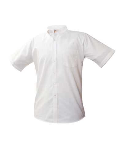 Boy's (Unisex) Short-Sleeve Oxford Shirt
