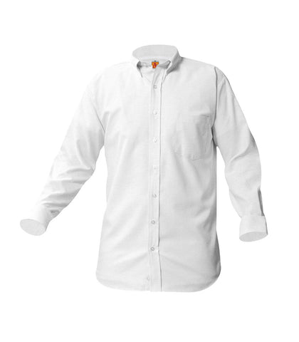Boy's (Unisex) Long-Sleeve Oxford Shirt
