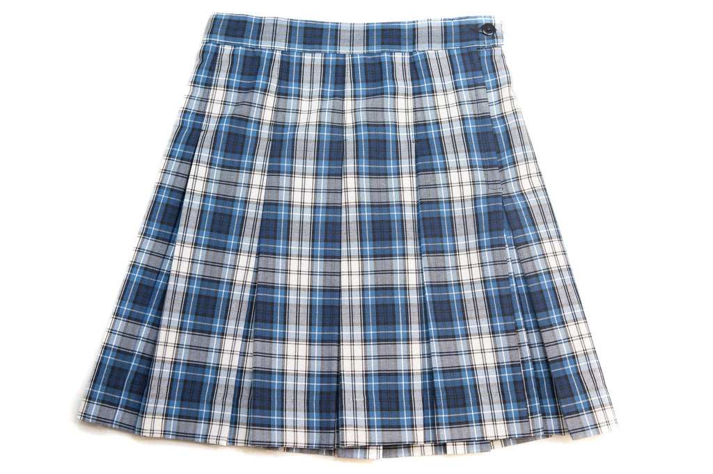fc359a64a5 CCA Girl's Half-Size Plaid Box Pleat Skirt – Ivy School Uniforms