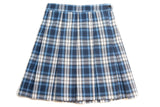 CCA Girl's Plaid Box Pleat Skirt