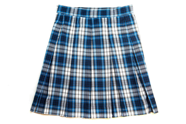 CCA Girl's Plaid Skirt
