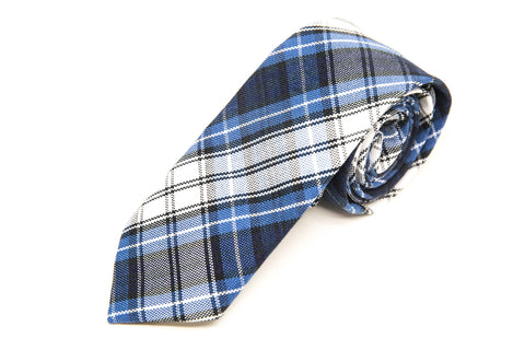 CCA Girls'Plaid Tie