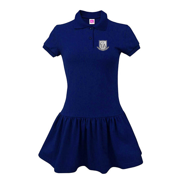 CCA Girl's Jersey Polo Dress