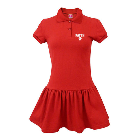 FCS Girl's Jersey Polo Dress