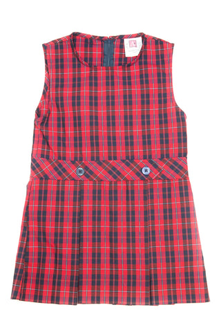 FCS Girl's Plaid Jumper