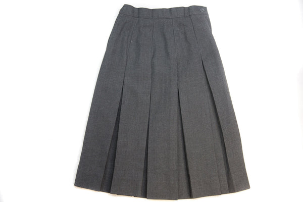 Girl's Flannel Pleated Skirt