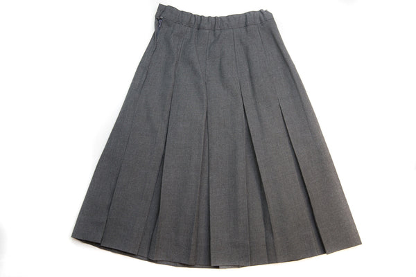 Girl's Flannel Pleated Skirt - Half-Size