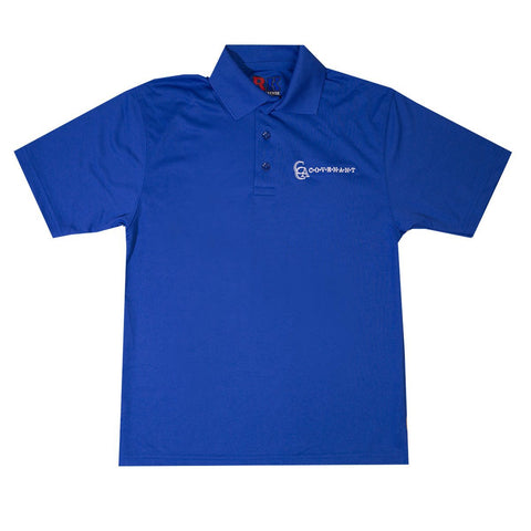 CCA Youth Moisture Wicking Polo Shirt