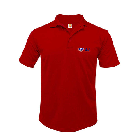 ALA Youth Moisture Wicking Polo