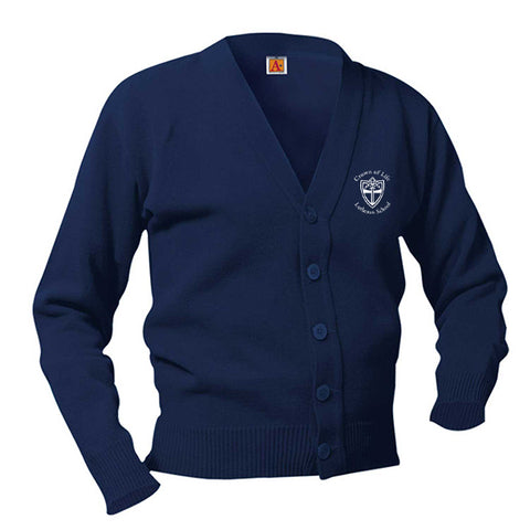 COLLS Youth Classic V-Neck Cardigan