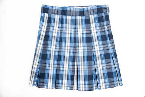 COLLS Girl's Plaid Skirt - Half Size