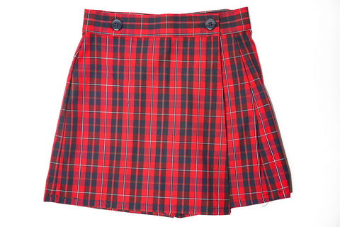 FCS Girl's Plaid Skort
