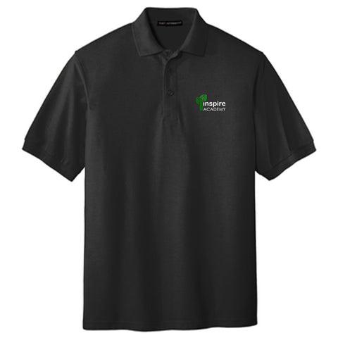 Inspire Academy Youth Short-Sleeve Pique Polo