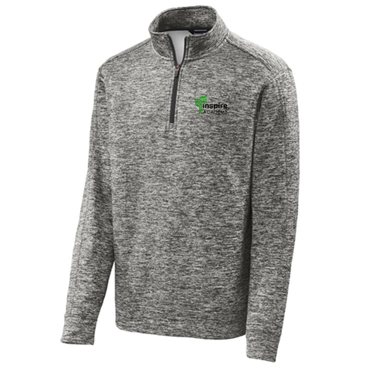 Inspire Academy Adult 1/4-Zip Fleece Pullover