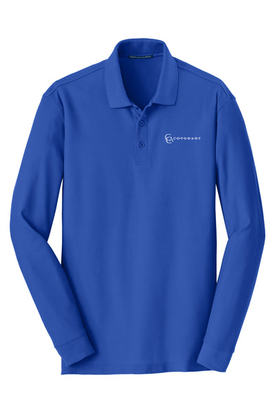 CCA Adult Long-Sleeve Pique Polo