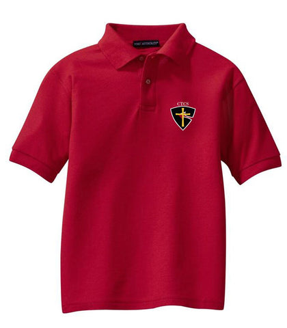 CTCS Adult Short-Sleeve Pique Polo