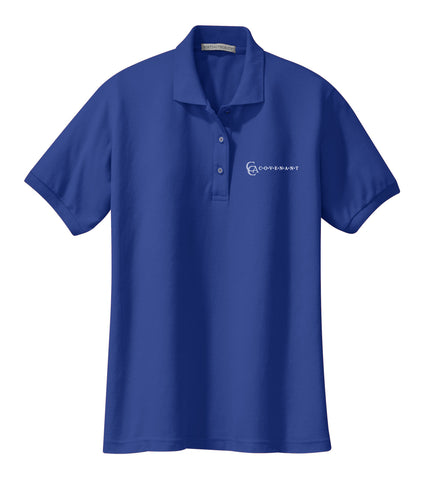 CCA Ladies Short-Sleeve Pique Polo