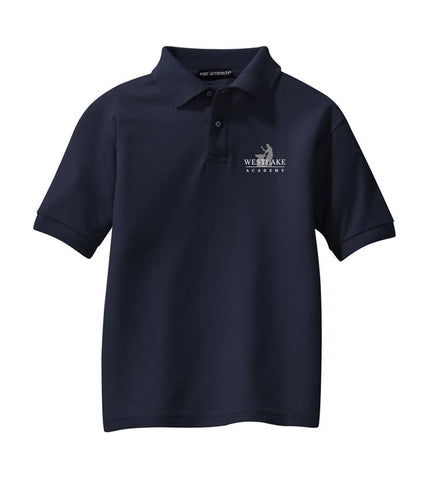 Westlake Academy Adult Short-Sleeve Pique Polo
